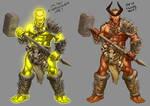 Badass Orc aleternative skins by mrAlejoX