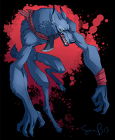 Big Bad Wolf T-shirt by sambragg