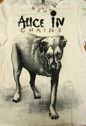 Alice in Chains T-shirt front by Crimsonesque