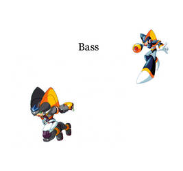 Megaman ZX Live Metal: Bass by BarryBurton
