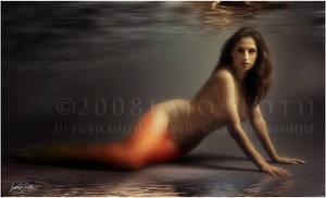 The Mermaid by Lajos-Toth