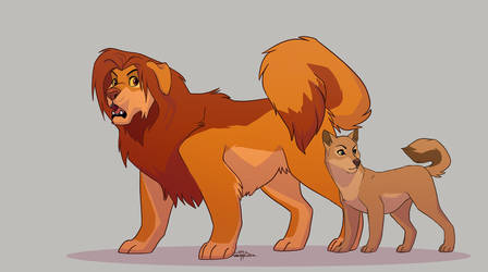 The Dog King by Annasko