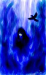 Konrad Curze in blue by Vasheska