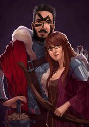 [C] Fantasy Couple by crys-art