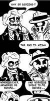 Joker Meets Rorschach by Penguinton