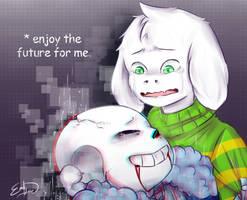 [Undertale] Last Words by XxkaibutsukoxX