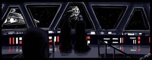 Star Wars III - Darth Vader by PetuGee