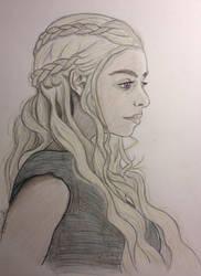Daenerys Targaryen by iwolf208