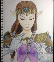 Princess Zelda by iwolf208