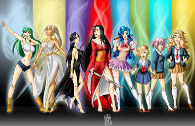 Mimi's Magical Girls by WendyEuphoria