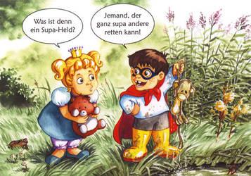 Little Princess Sonja 3, Supa Hero by rieke-b