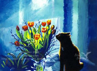 By the Window by rieke-b