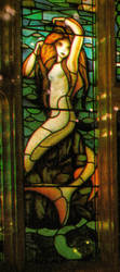 Harry Potter Stained Glass Mermaid by SebastianMerman