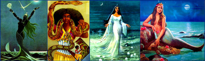 Yemanja, Mami Wata, La Sirene, Janaina by SebastianMerman