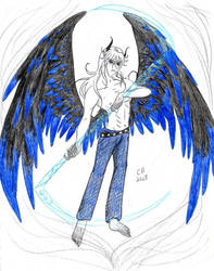BG TomeFantasy 2013: Shiroi the Death Angel by KeeperOfCoffins