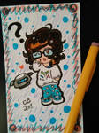 Chibi Mei ACEO by KeeperOfCoffins
