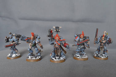 Space Wolves Blood Claws by BeatleJulius