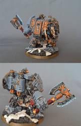 Space Wolves Magnetized Venerable Dreadnought by BeatleJulius