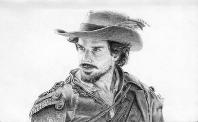 Aramis from BBC's The Musketeers by LPSoulX