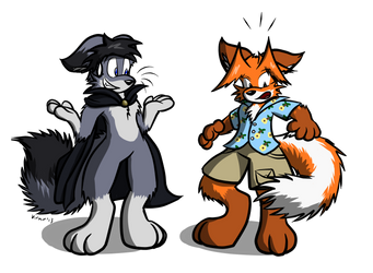 Fox Swap by Virmir