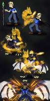 Dragon Staff by Virmir