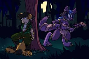 Purple Wolf Bite by Virmir