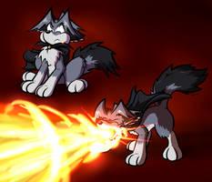 Flamethrower by Virmir