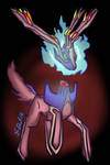 Ghost Xerneas by P5ych