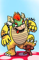 Bowser by P5ych