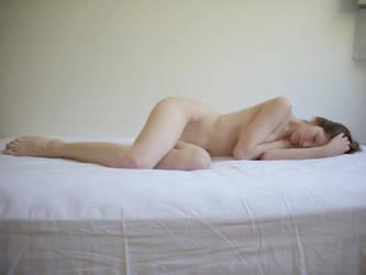 Sleeping nude stock III by Devadevil