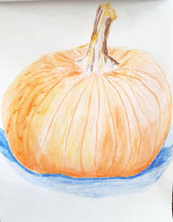 Pumpkin by oiltocanvas