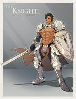 The Knight by dizdoodz