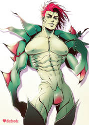 Poison Ivy Genderbend by dizdoodz