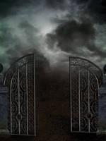 Dark gate Premade by KarahRobinson-Art