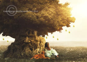 The Wisdom Tree by KarahRobinson-Art