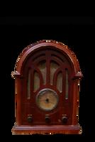 Antique  radio PNG STOCK by KarahRobinson-Art
