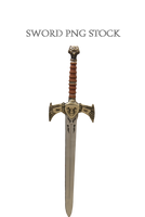 Sword PNG STOCK by KarahRobinson-Art