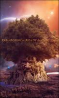 The Cosmic Tree by KarahRobinson-Art