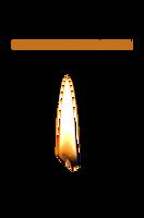 Candle Flame PNG STOCK by KarahRobinson-Art