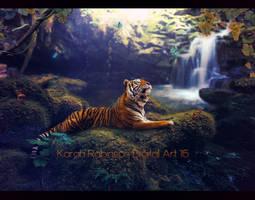 A Comfy Spot by KarahRobinson-Art