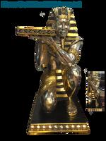 Egyptian Statue PNG STOCK by KarahRobinson-Art