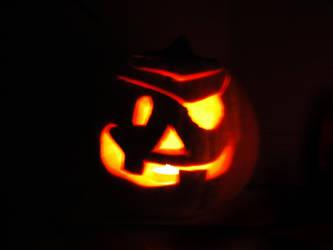 Pirate Pumpkin by xstalscar