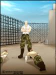 L'entrainement de Vinzent by sevices-militaires