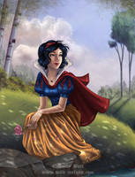 Snow White by HollyBell