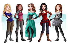 Girls by HollyBell