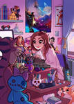 Growing up - Edit : prints ! by HollyBell