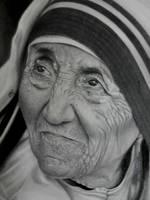 Mother Teresa by richardbgomes