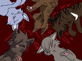warriors of feline sacrifice by reaper-neko