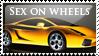 Lamborghini Gallardo Stamp by sugarpoultry