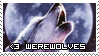 I Love Werewolves Stamp by sugarpoultry